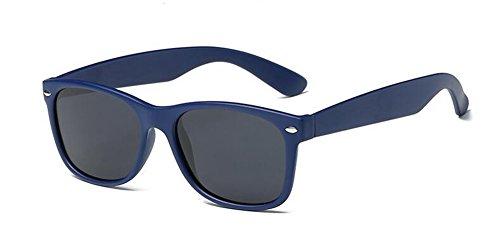en du retro lunettes Noir rond Lennon inspirées style de Frêne vintage cercle polarisées soleil métallique Y4Iz4g