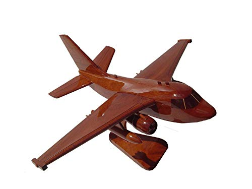 S-3 Viking Mahogany wood Airplane desktop model