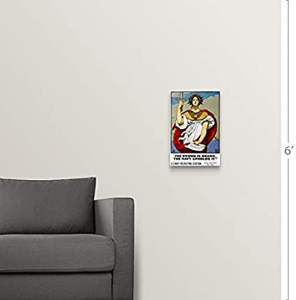 Amazon com: GREATBIGCANVAS Gallery-Wrapped Canvas Entitled