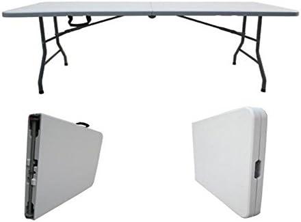 Tavoli Pieghevoli Plastica Per Catering.Tavolo Catering Pieghevole Amazon It Giardino E Giardinaggio