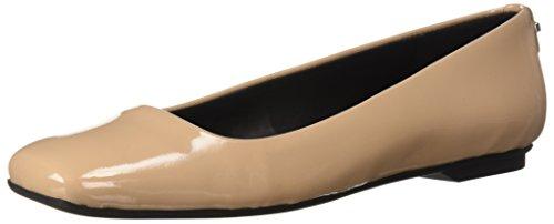 Shoes Flat Womens Klein (Calvin Klein Women's Enith Pump, Desert Sand, 10 Medium US)