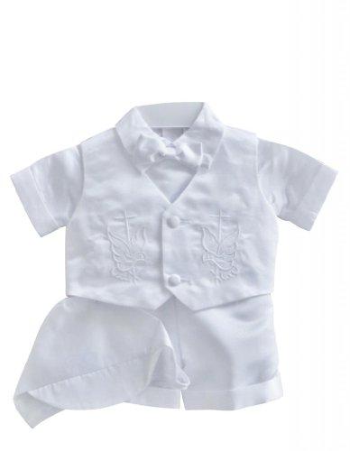 Classykidzshop White Boy Baptism Outfit B1 - Size 4T