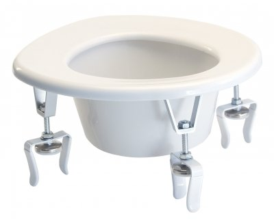 Lumex 6490A Versa Height Raised Toilet Seat
