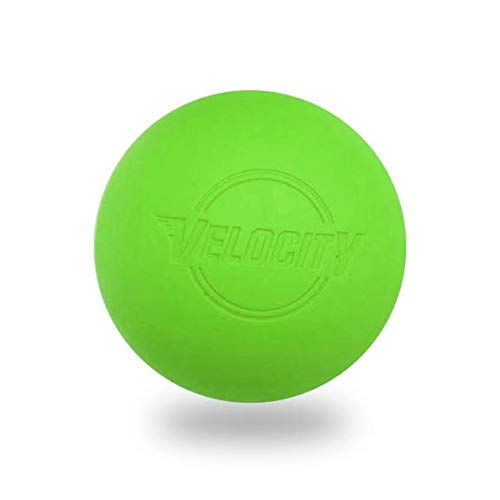 12 Pack of Velocity Lacrosse Balls Color: Lime Green.
