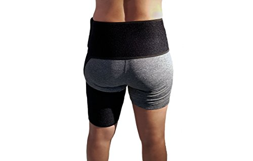 Hip Brace and Groin Support 22683648220 Adjustable Thigh Compression Wrap 22683648220 Provides Pain Relief to Sports Injuries Hip Replacement Surgery Sciatica Hernia and Hamstring Discomfort by Tora Gear
