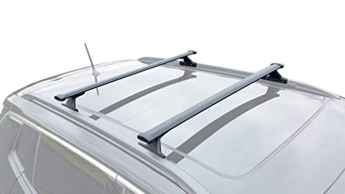 (BRIGHTLINES 2018-2019 Jeep Compass Roof Rack Crossbars)