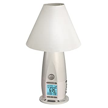 rise and shine lighting. Verilux Rise \u0026 Shine Natural Alarm Clock Deluxe Bedside Lamp, Ivory And Lighting L