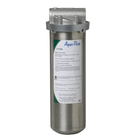 (Aqua Pure SST1HA Industrial Grade Water Filter, Stainless Steel)