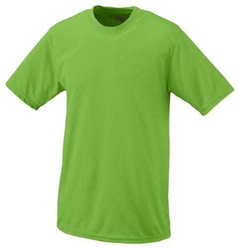 Augusta Sportswear Boys' Wicking t-Shirt, Lime, X-Large
