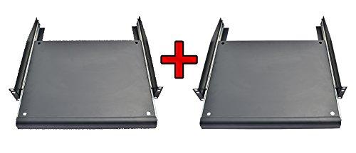 Pack 2 PCS X 1U Rack Mount Adjustable Pull-Out Sliding Keyboard Mouse Shelf Tray!! Sysracks '821079001671
