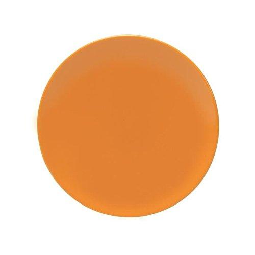 Orange NOVASTYL Ibiza 8022990 Lot 6 Assiettes Dessert 20cm Faience