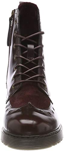 Rangers Femme Bottes Rouge Modern Tommy Up Lace Hilfiger 296 Decadent Boot Chocolate Leather 6UHw0Aq