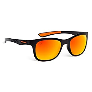 Eye Ojo Officially Licensed NFL Sunglasses, Cincinnati Bengals, 3D Logo on Temple - 100% UVA, UVB & UVC Protection