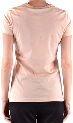 Love Moschino Luxury Fashion Donna MCBI37557 Rosa T-Shirt | Stagione Outlet