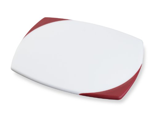 KitchenAid 11-Inch by 14-Inch Poly Board with Santoprene Corners, Red