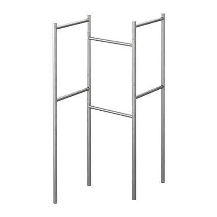 IKEA GRUNDTAL - soporte de toallas, acero inoxidable