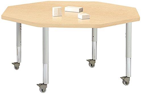 Berries 6428JCM251 Octagon Mobile Activity Table, 48