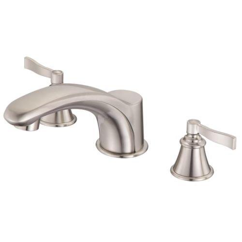 Danze D301525BNT Aerial Roman Tub Faucet Trim Kit, Brushed Nickel (Valve Not Included) (Faucet Tub Rub Roman)