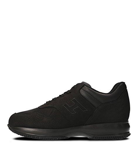 Hogan Men Hxm00n0y720h1p0xcr Sneakers In Pelle Nera