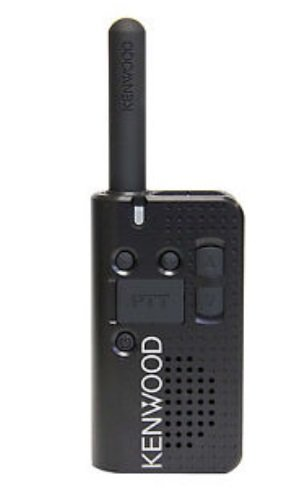 Kenwood PKT-23 Pocket-Sized UHF FM Portable Radio, 1.5 Watts, 4 Channels