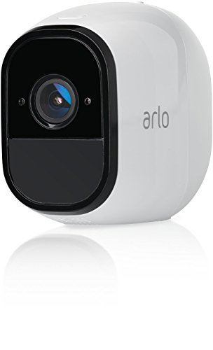 Arlo Pro Security System with Siren - 2 Rechargeable Wire-Free HD Cameras with Audio, Indoor/Outdoor, Night Vision (VMS4230)