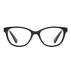 TIJN Cat Eye Acetate Optical Frame Eyeglasses Designer Glasses for Women (H, 51)