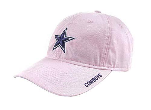 Dallas Cowboys NFL Men's Curved Headwear, OSAFA, Pink - Head Womens Pink T-shirt