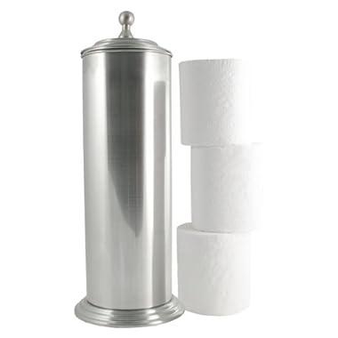 LDR 164 6456BN Ashton Extra Toilet Paper Holder, Brushed Nickel