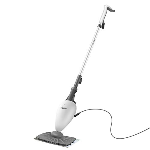 Best Prices! LIGHT 'N' EASY Steam Mop Floor Steamer for Cleaning with Swiveling Steamer Mop Head for...