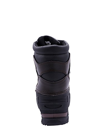 Zanco Mens Hi Snow Boot Marrone