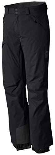 Mountain Hardwear Returnia Pant - Men's Black Large Regular - Mountain Hardwear Fleece Pants