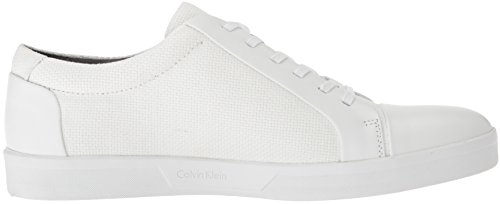 Calvin Klein Men's Igor Napa Calf Sneaker White geniue stockist cheap online 2JVohY3m