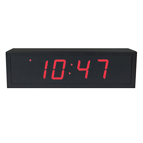 - TimeMachines Precision Digital PoE Clock, 2.5