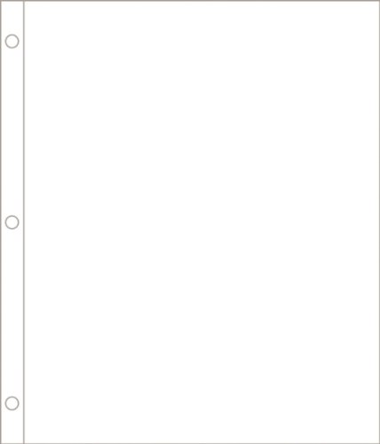 Project Life 380021 Page Protectors - 8x10 - Vertical - 12 pack