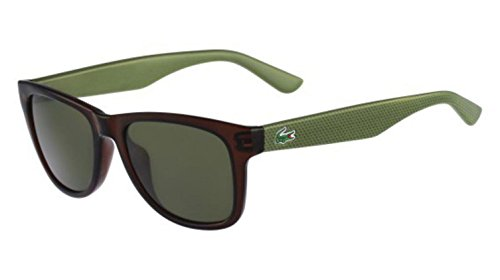 Lacoste L734S Wayfarer Sunglasses, Brown, 52 - Lacoste Shades