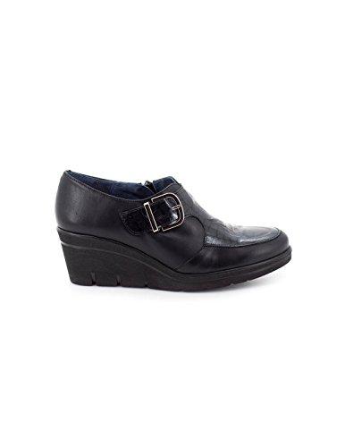 32 Noir Dliro 10652 Chaussure Peau wHnX6
