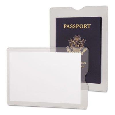 Esselte Utili Jac Vinyl - Oxford : Utili-Jacs Heavy-Duty Clear Vinyl Envelopes, 4 x 6, 50 per Box -:- Sold as 1 BX