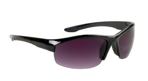 Select-a-Vision Coppertone Aero Sport Sunglass Readers, Black, - Vision Sunglasses Express