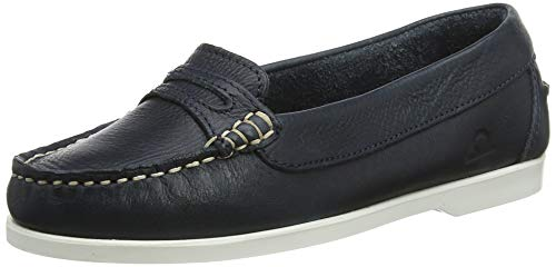 Women's Sally Navy Chatham Shoes Blue 001 Boat 8Oddwq6pU
