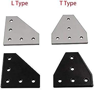 Placa de conexión, placa de unión de impresora CNC 3D 90 grados L ...