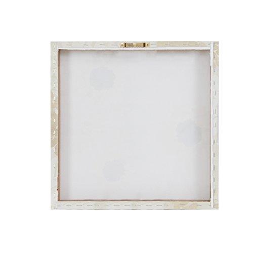Grandeur Canvas Art with Gold Foil 4 Piece Set White See Below ()