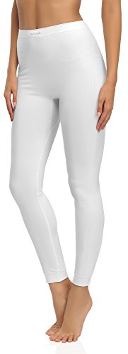 120 Intima attiva Funzione 06 Donna Calzamaglia Termo Style Merry Lunga Bianco EpWqzna4x