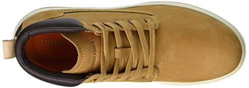Dk Lumberjack Uomo Brown Giallo Winter Stivali Chukka Yellow Houston M0001 qav71qA