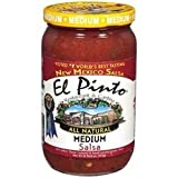 salsa el pinto - El Pinto Salsa, Red, Med, 16-Ounce (Pack of 6)