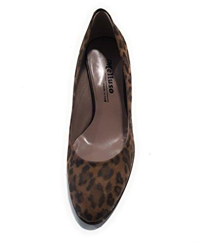 Melluso Women's Court Shoes Maculato (Camel) tEqPZ