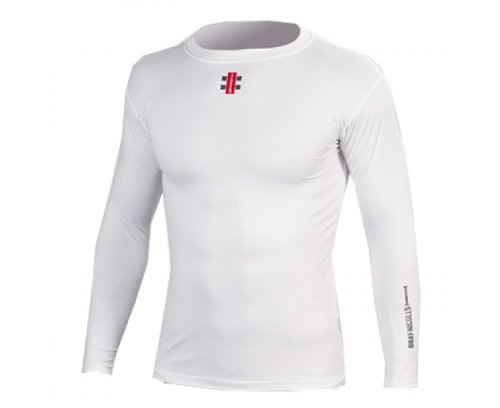 New Gray Nicolls Official White Cover Point Cricket Shirt Sizes Boys - 2XL