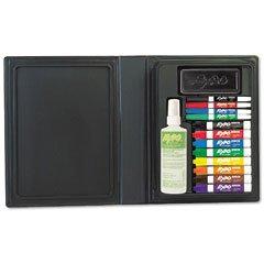 EXPO 80054 Low-Odor Dry Erase Marker Eraser & Cleaner Chisel/Fine 12/Set