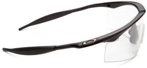Oakley Clear Frame Glasses : Oakley Industrial M Frame Black Clear Lens Mens Glasses