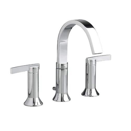 (American Standard 7430.801.002 Berwick 2 Lever Handle Widespread Faucet, Polished)