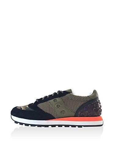 Saucony Herrenschuhe Herren Leder Schuhe Sneakers jazz Grün